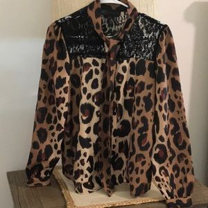 Kardashian collection blouse